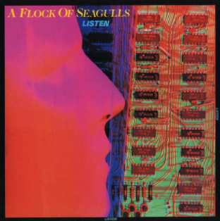 A Flock Of Seagulls - Listen (LP) (VG/G+)